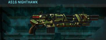 Jungle forest shotgun as16 nighthawk
