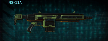 Amerish forest v2 assault rifle ns-11a