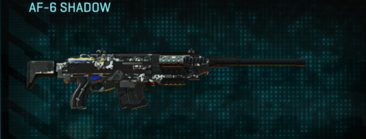 Snow aspen forest scout rifle af-6 shadow