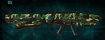 African forest rocket launcher s1