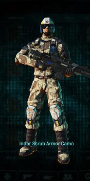 Nc indar scrub combat medic