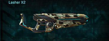 Desert scrub v1 heavy gun lasher x2