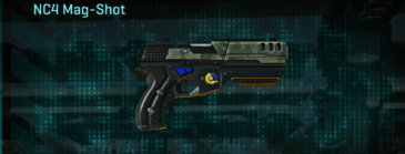 Amerish brush pistol nc4 mag-shot