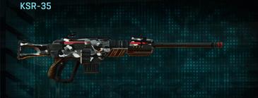 Indar dry brush sniper rifle ksr-35