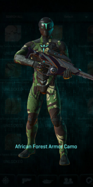 Vs africa forest infiltrator