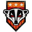 Badger Badge Decal