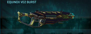 Temperate forest assault rifle equinox ve2 burst