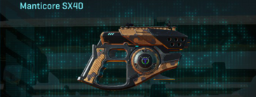 Indar canyons v1 pistol manticore sx40