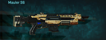Sandy scrub shotgun mauler s6