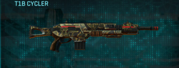 Indar highlands v1 assault rifle t1b cycler