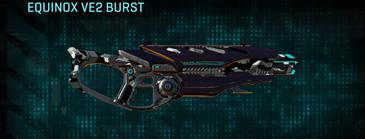 Indar dry brush assault rifle equinox ve2 burst