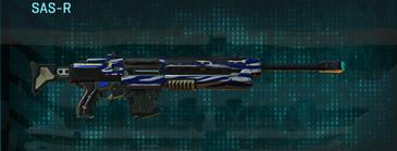 Nc zebra sniper rifle sas-r