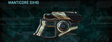 Indar dry ocean pistol manticore sx40