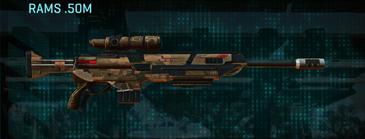 Indar rock sniper rifle rams .50m