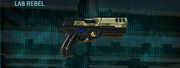 Palm pistol la8 rebel
