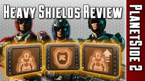 Heavy Shields Comparison (Nanite Mesh Generator, Adrenaline Shield, Resist Shield) - PlanetSide 2