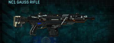 Indar dry brush assault rifle nc1 gauss rifle