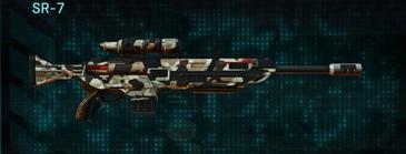 Desert scrub v1 sniper rifle sr-7