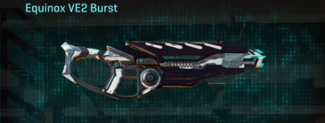Esamir ice assault rifle equinox ve2 burst