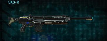 Indar dry brush sniper rifle sas-r