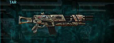 Arid forest assault rifle tar