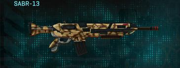Giraffe assault rifle sabr-13