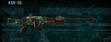Amerish brush sniper rifle ksr-35