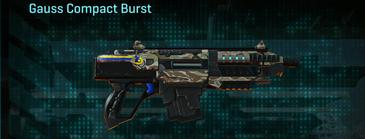 Arid forest carbine gauss compact burst