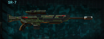 Amerish leaf sniper rifle sr-7
