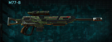 Amerish leaf sniper rifle m77-b
