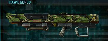 Jungle forest rocket launcher hawk gd-68