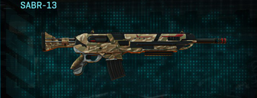 Indar dunes assault rifle sabr-13