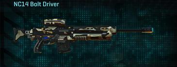 Desert scrub v1 sniper rifle nc14 bolt driver