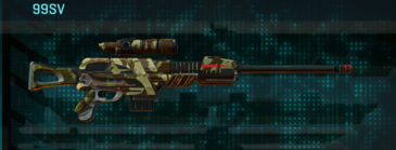 India scrub sniper rifle 99sv