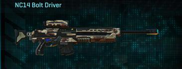 Desert scrub v2 sniper rifle nc14 bolt driver