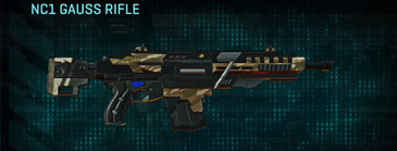Indar dunes assault rifle nc1 gauss rifle