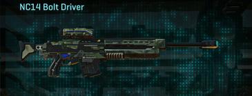 Amerish brush sniper rifle nc14 bolt driver