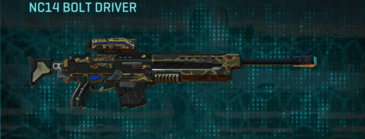 Indar highlands v1 sniper rifle nc14 bolt driver