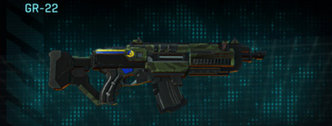 Amerish forest v2 assault rifle gr-22