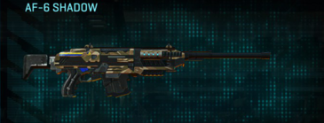 Indar dunes scout rifle af-6 shadow