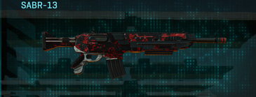 Tr loyal soldier assault rifle sabr-13
