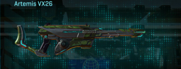 Amerish forest v2 scout rifle artemis vx26