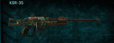 Amerish grassland sniper rifle ksr-35