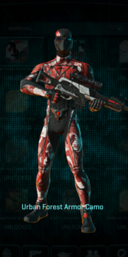 Tr urban forest infiltrator