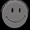 Chrome Smiley Face Hood Ornament