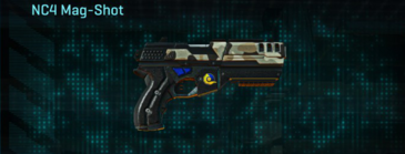 Desert scrub v1 pistol nc4 mag-shot