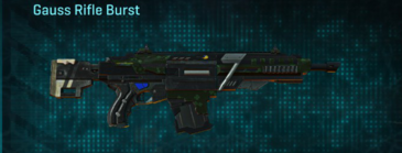 Clover assault rifle gauss rifle burst