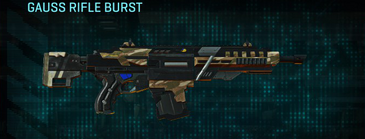 Indar dunes assault rifle gauss rifle burst