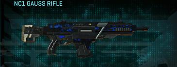 Nc loyal soldier assault rifle nc1 gauss rifle