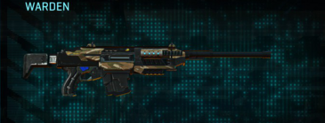 Indar dunes battle rifle warden
